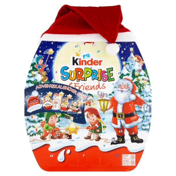 Kinder Surprise & Friends adventný kalendár 431 g 1