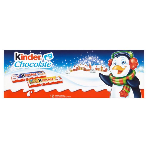 Kinder Chocolate tyčinky 12 ks 150 g 1