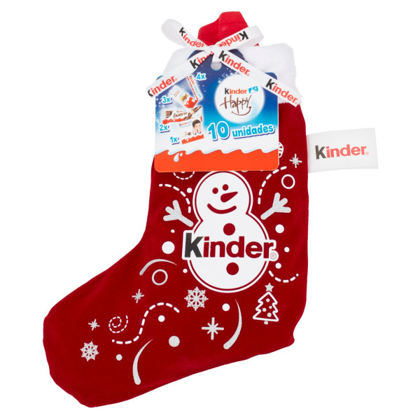 Kinder Happy ponožka 10 ks 290,5 g 1