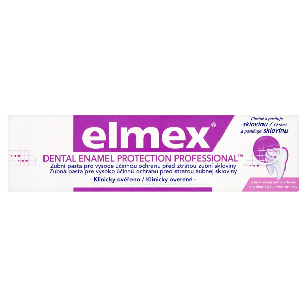 elmex Dental Enamel Protection zubná pasta 75 ml 1
