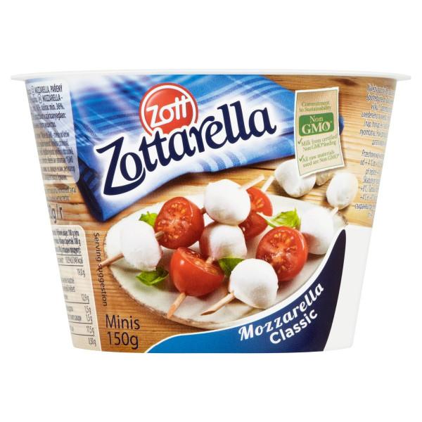 Zottarella Minis Classic ZOTT 150g VÝPREDAJ 1