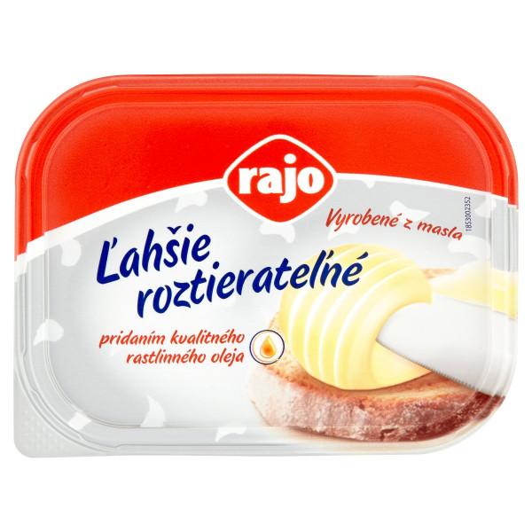 Maslo ľahšie roztierateľné RAJO 225g 1
