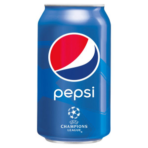 Pepsi Cola 330 ml plech 6