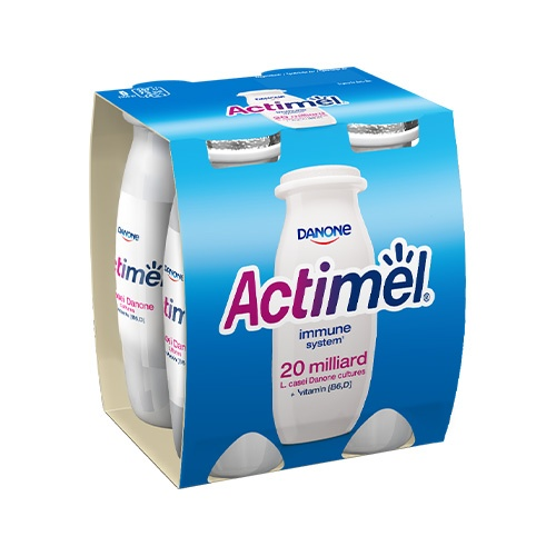 Actimel jogurtový nápoj biely DANONE 4x100g 1
