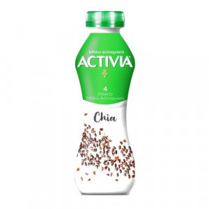 Activia jogurtový nápoj biely s Chia DANONE 280g 6