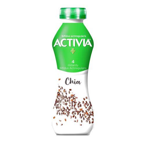 Activia jogurtový nápoj biely s Chia DANONE 280g 1