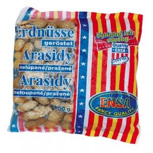 Arašidy nelúpané pražené ENSA 200 g 1