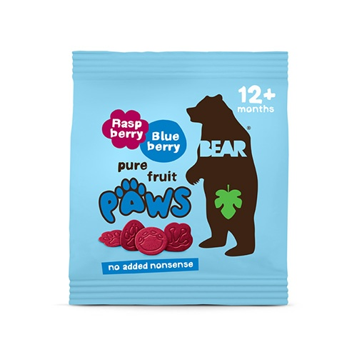 BEAR malinovo - čučoriedkové labky 20g 1
