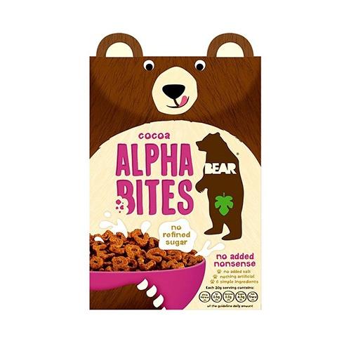 "BEAR písmenkové ""bites"" - kakaové 350g 1"