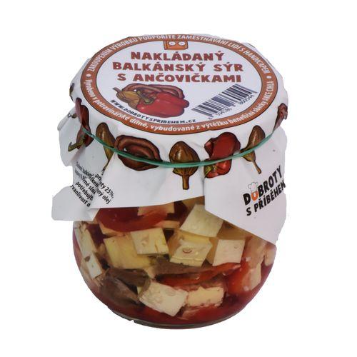 Balkán.syr s ančovičkami, Dobroty s příběhem 150 g 1