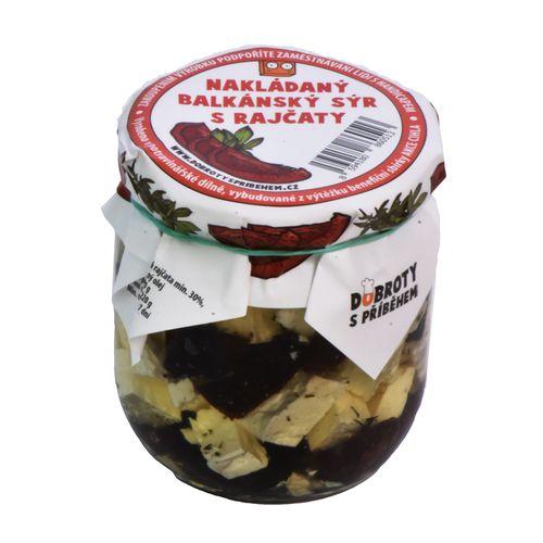 Balkán.syr s paradajkami, Dobroty s příběhem 200 g 1