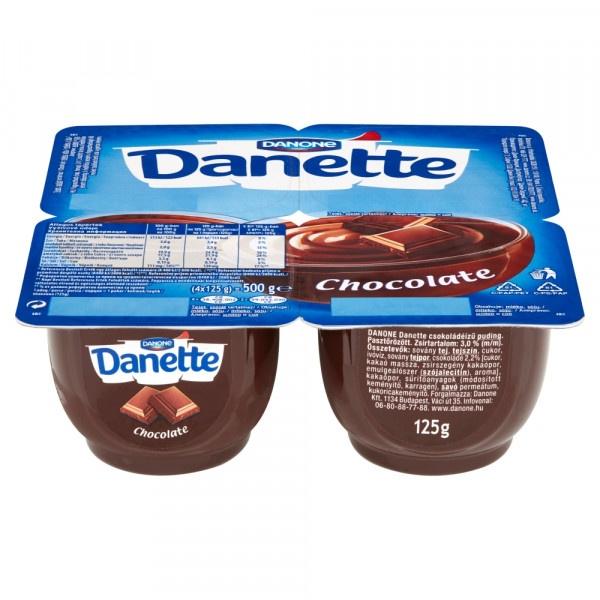 Danette dezert čokoláda DANONE 4x125g 1