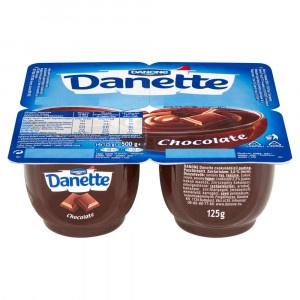 Danette dezert čokoláda DANONE 4x125g 4