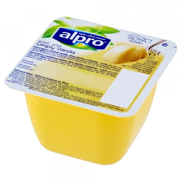 Dezert sójový s vanikovou príchuťou ALPRO 125g 1