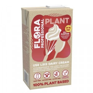 Smotana FLORA Plant cream rastlinná 31% 1l 7