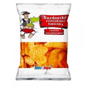 Gazdovské zem. lupienky paprika SlovChips 75 g 9