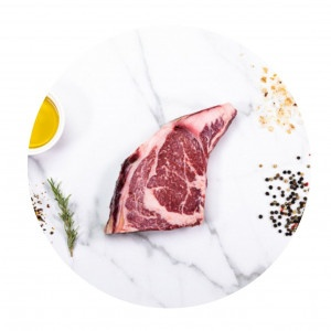 Hovädzí DRYage Ribeye steak bez kosti KRAVA&CO 2