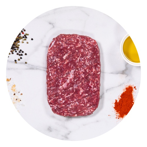 Hovädzie mleté mäso cca 500g, KRAVA&CO výpredaj 1