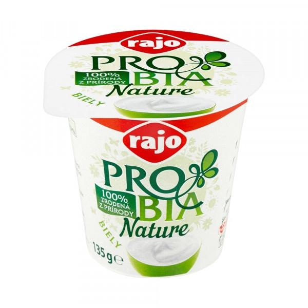 Jogurt PROBIA Nature biely 3,3% RAJO 135g VÝPREDAJ 1