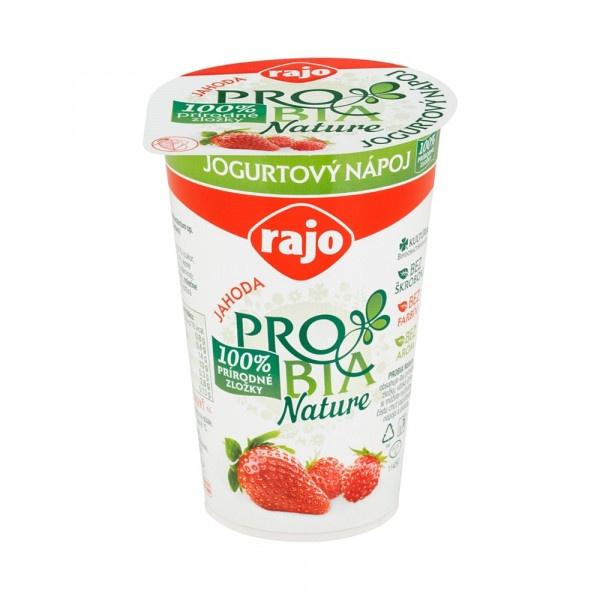 Jogurtový Nápoj PROBIA Jahoda RAJO 250g VÝPREDAJ 1