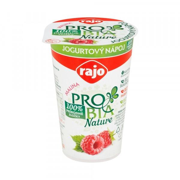 Jogurtový Nápoj PROBIA Malina RAJO 250g VÝPREDAJ 1