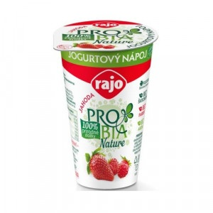 Jogurtový Nápoj PROBIA Jahoda RAJO 250g 4