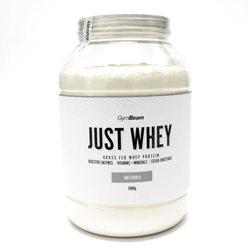 Just Whey Proteín 1000 g bez príchute GymBeam 1