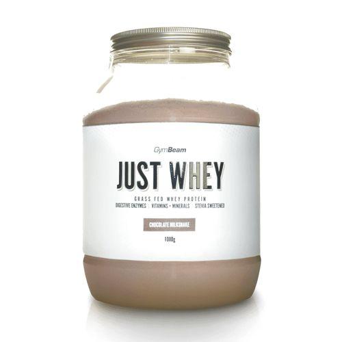 Just Whey Proteín 1000 g čoko milkshake GymBeam 1