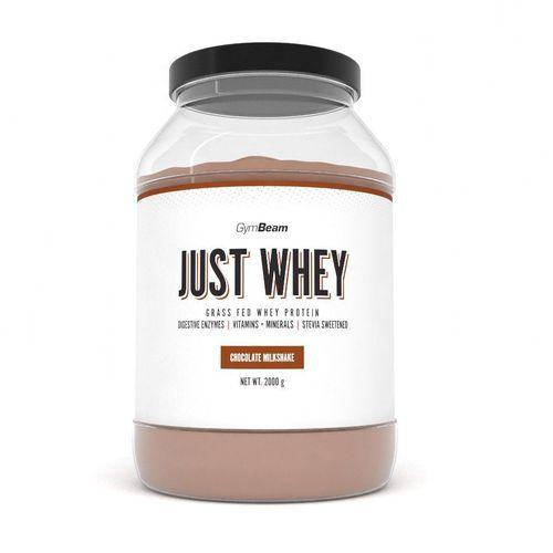 Just Whey Proteín 2000 g čoko milkshake GymBeam 1