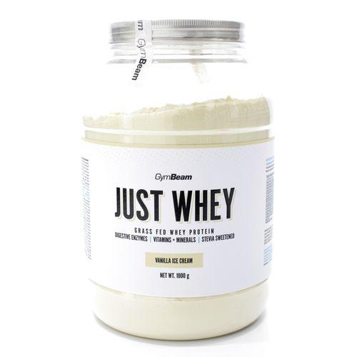 Just Whey Proteín 2000 g vanilla icecream GymBeam 1