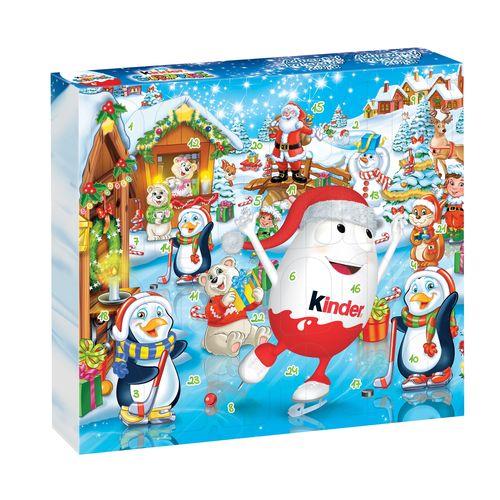Kinder Surprise adventný kalendár 24dní x 20 g 1