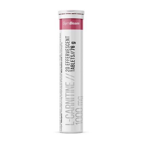 L-Karnitín 1000 mg 20 tabs malina GymBeam 1