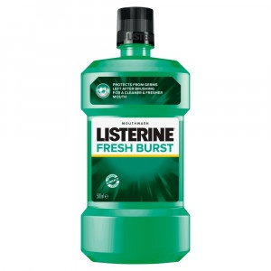 Listerine Fresh Burst ústna voda 500 ml 3