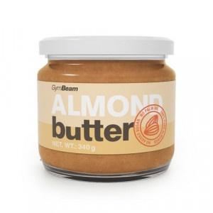 Mandľové maslo 100% smooth 340g GymBeam 1