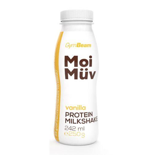 MoiMüv Protein Milkshake 242 ml vanilka GymBeam 1