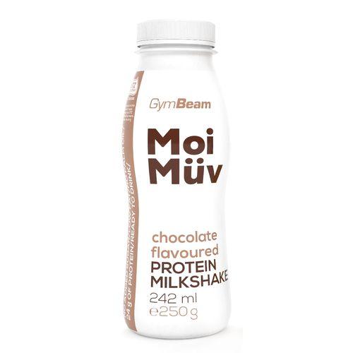 MoiMüv Protein Milkshake 242 ml čokoláda GymBeam 1