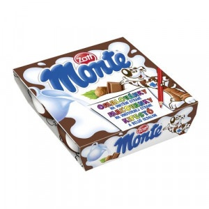 Monte dezert ZOTT 4x55g 19