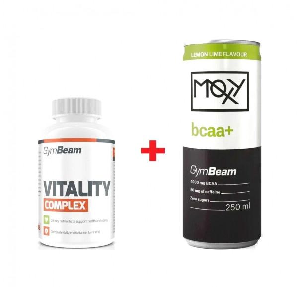 Multivitamín Vitality complex 120tab 1g + darček 1