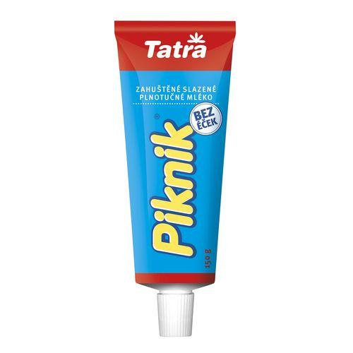 Piknik zahustené sladené mlieko TATRA 150g 1