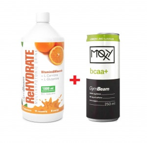 ReHydrate Iontový nápoj 1000 ml pomaranč + darček 6