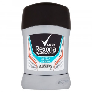 Rexona Men Active shield tuhý antiperspirant 50 ml 24