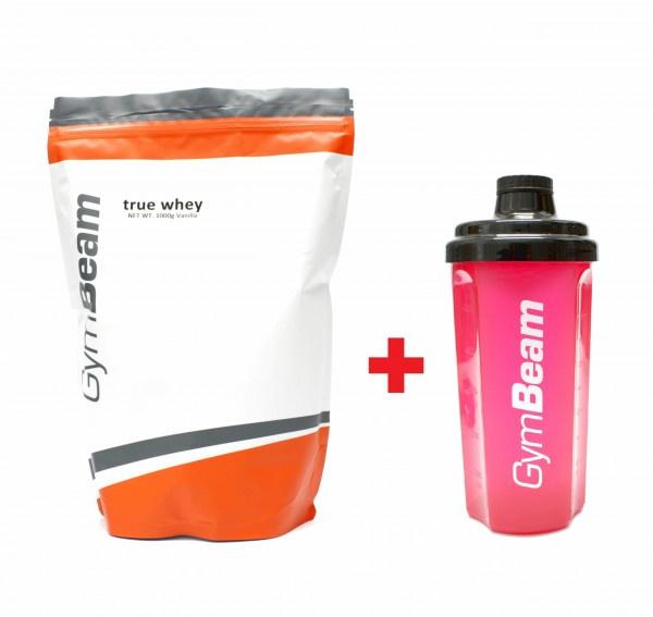 True Whey Proteín 1000 g vanilka + darček 1