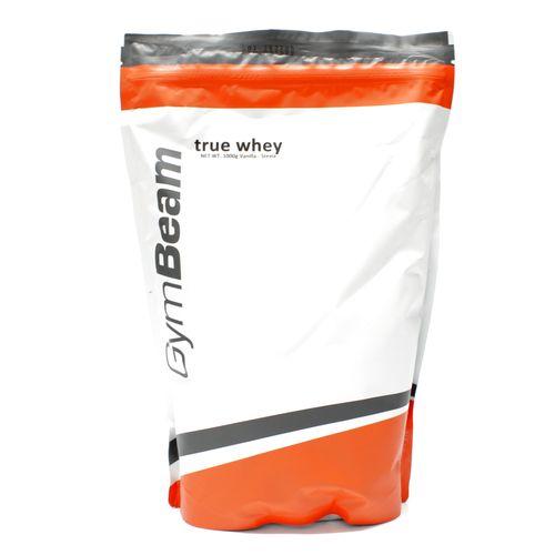 True Whey Proteín 1000 g vanilka stévia GymBeam 1