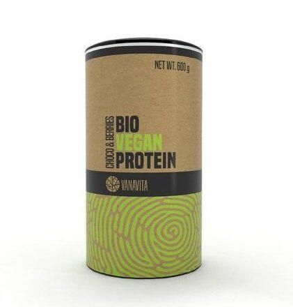 VanaVita Bio Vegan Protein choco berries 600 g 1