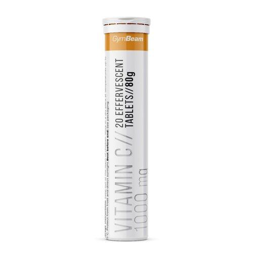 Vitamín C 1000 mg 20 tab GymBeam 1