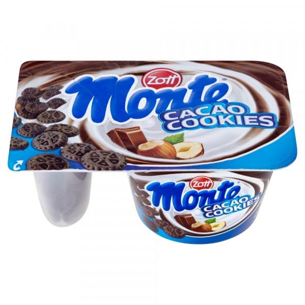 Monte Cacao cookies ZOTT 125g 1