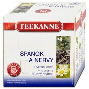 TEEKANNE Spánok a nervy, bylinkový čaj 20 g 6