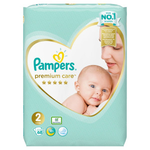 Pampers Premium Care Veľ.2, 4-8kg, Plienky 68ks 2