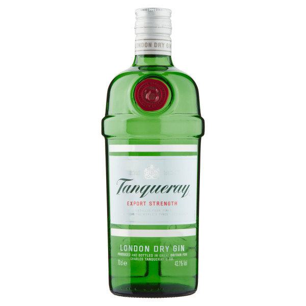 Tanqueray London Dry Gin 43,1% 0,7 l 1