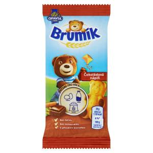 Opavia Brumík Čokoládová náplň jemné pečivo 30 g 11